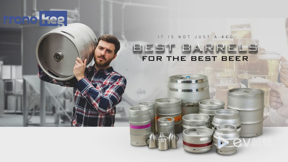 Stainless Steel Beer Keg 45L  Manufacturing Process Video