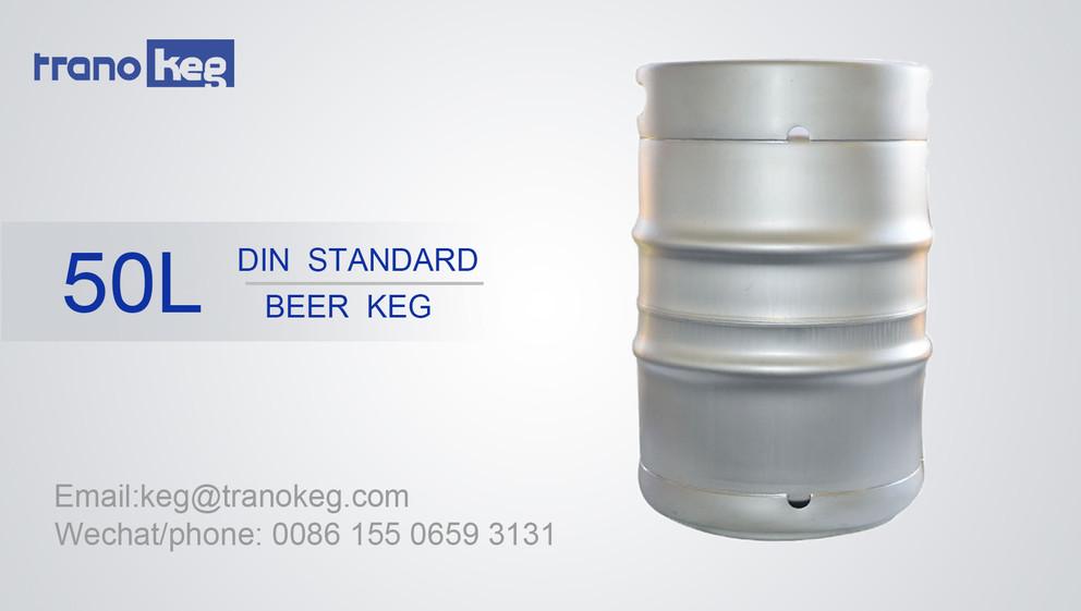 DIN Beer Keg 50L Supplier Video