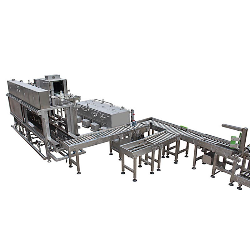 Automatic Beer Keg Washing and Filling Line