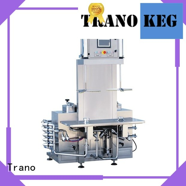 automatic keg cleaning machine supplier for beverage factory