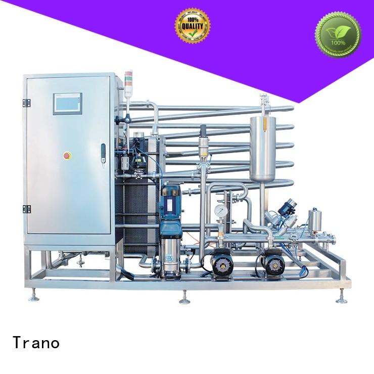 Trano efficient pasteurization machine wholesale for beverage factory
