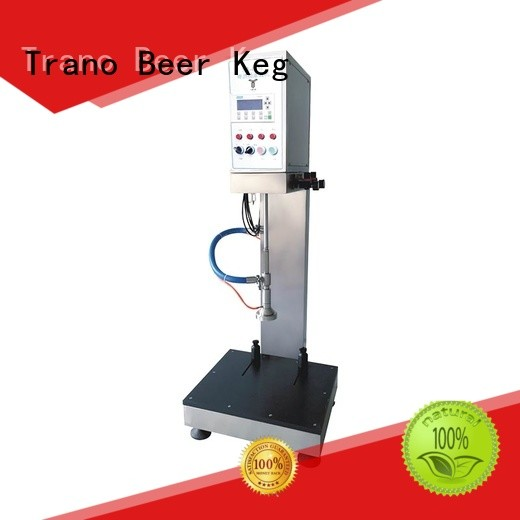 Trano beer keg filling machine factory direct supply for beer