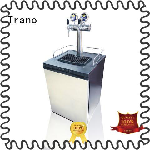 Trano latest 2 keg kegerator manufacturer for transport beer