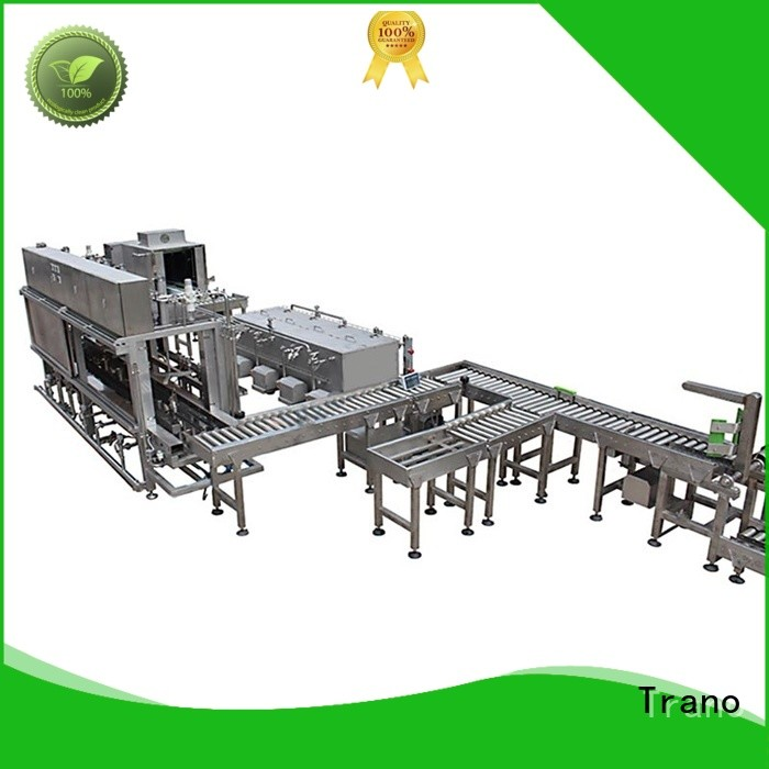 Trano keg washing and filling machine supplier for beer