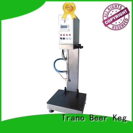 Trano advanced keg filling machine wholesale for food shops