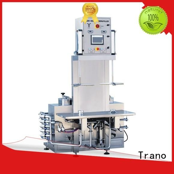 Trano beer keg filling & washing machine supplier for beverage factory