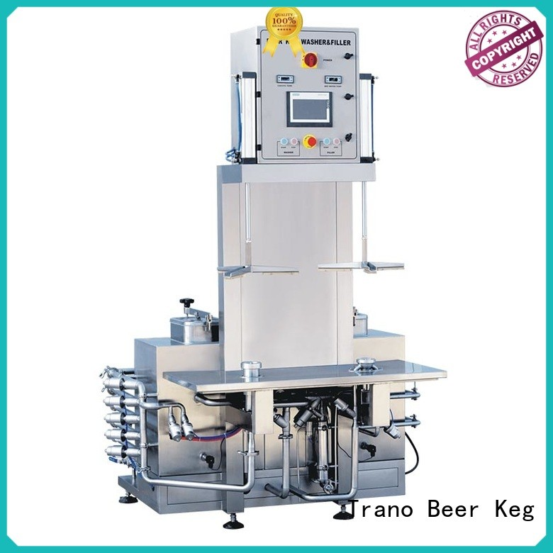 Trano convenient keg cleaning machine manufacturer for beer