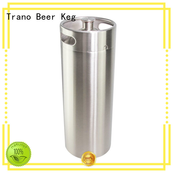 Trano high quality beer growler with tap factory price for bar