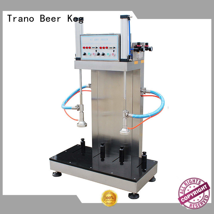 Trano automatic beer keg filling equipment factory direct supply for beverage factory