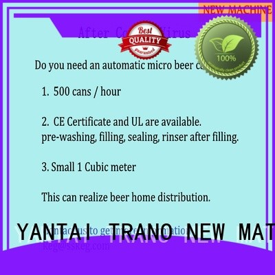Trano automatic beer kegerator manufacturer for beer
