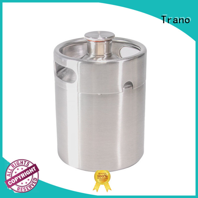 Trano beer growler stainless steel series for bar