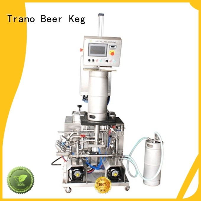 Trano automatic keg washing machine factory direct supply for beverage factory