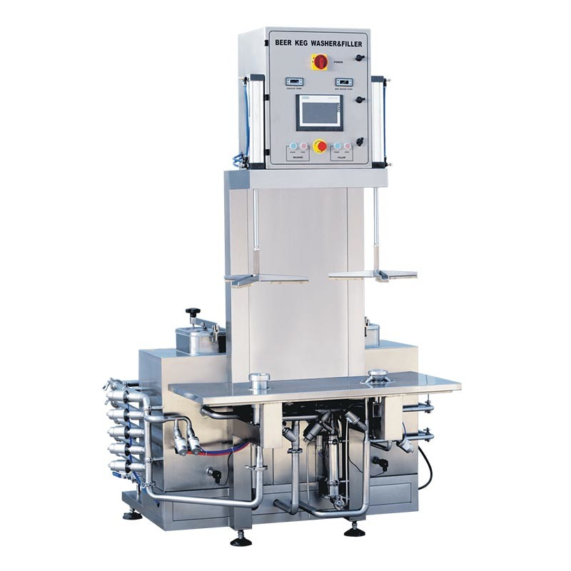 Beer Keg Washing And Filling Machine TRCFA2-22E-T-H-1-1N