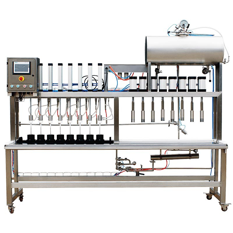 Semi-Automatic Beer Bottle Filling And Capping Machine