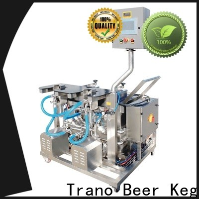 Trano beer keg filling equipment with good price for beverage factory