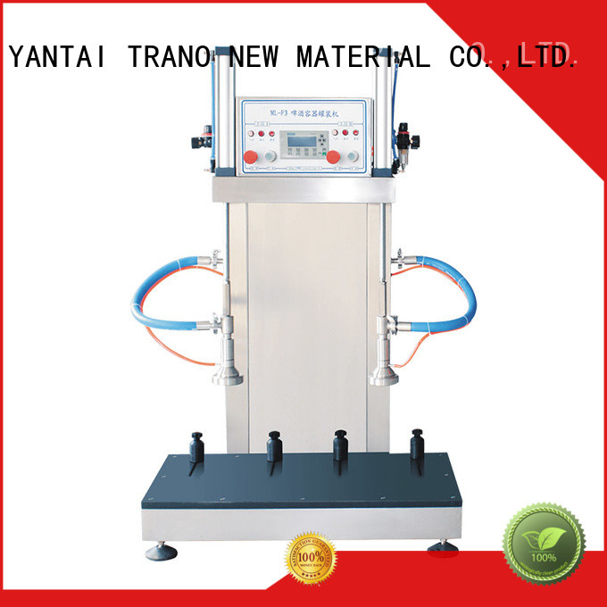 Trano automatic china beer keg filling machine suppliers wholesale for beverage factory