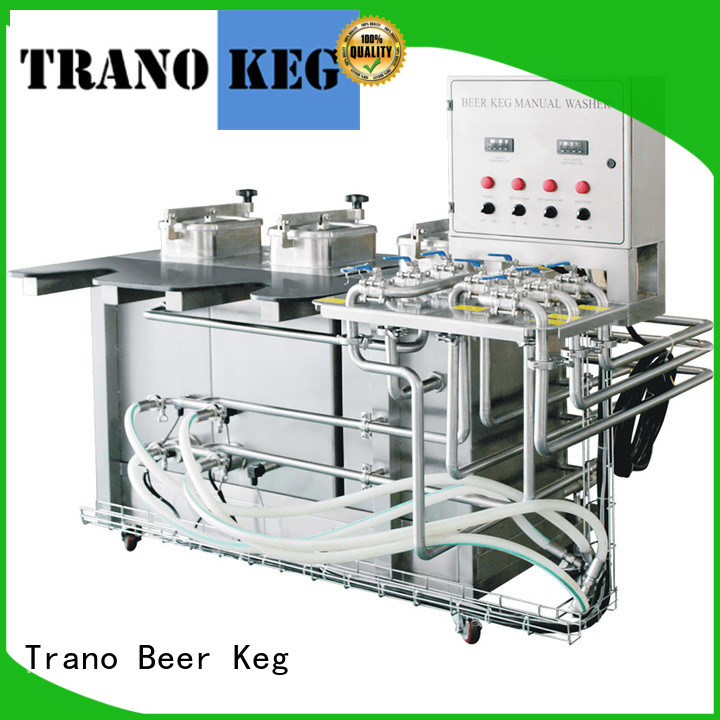 Trano convenient keg cleaning system manufacturer for beverage factory