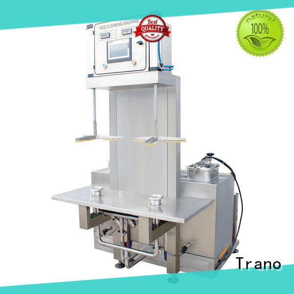 Trano beer keg washing machine with good price for food shops