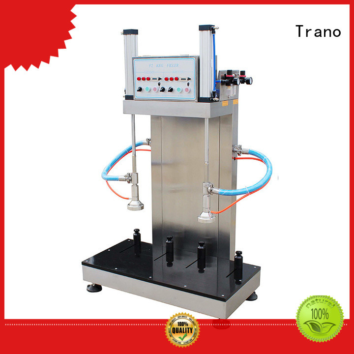 Trano beer keg filling machine factory direct supply for beverage factory