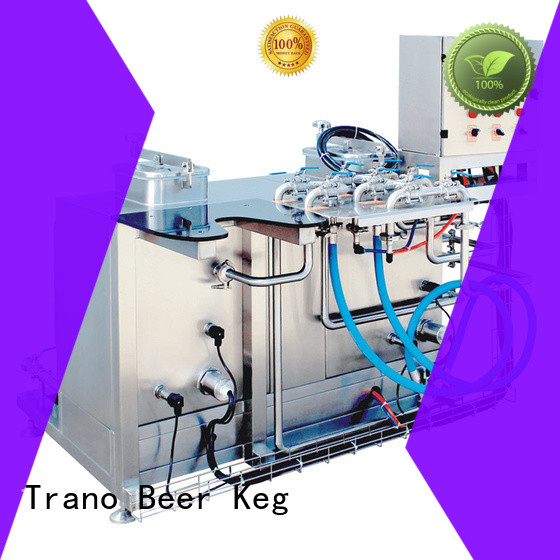 Trano flexible keg washer supplier for beer