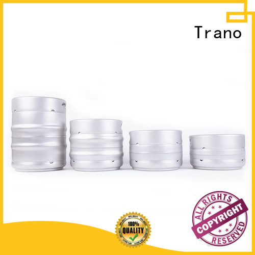 Trano wholesale stainless steel beer keg manufacturers for food industry