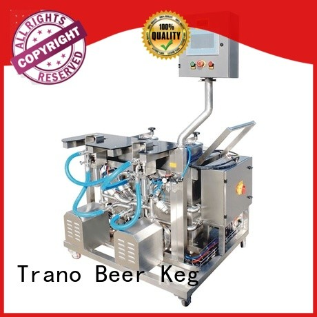 Trano beer keg cleaning machine manufacturer for beverage factory