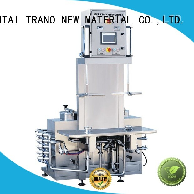 Trano keg cleaning machine manufacturer for beer
