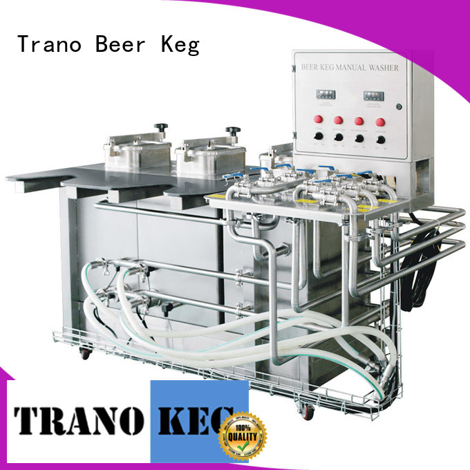 Trano automatic keg washer and filler supplier for food shops