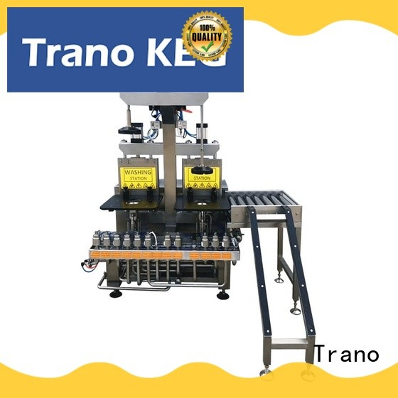 Trano convenient keg cleaning machine with good price for beverage factory