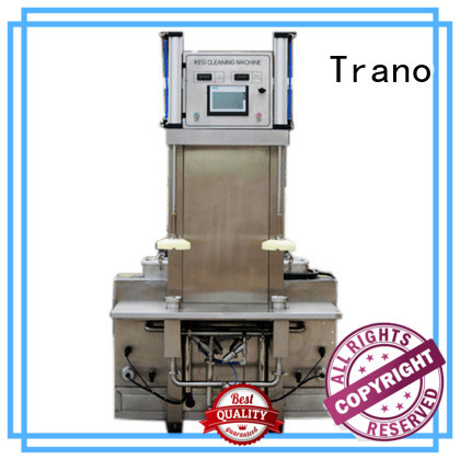 Trano automatic keg washing machine with good price for food shops