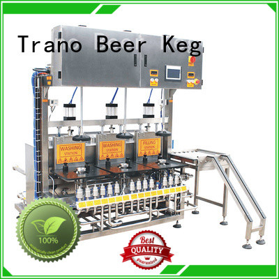 Trano keg cleaning machine manufacturer for beverage factory