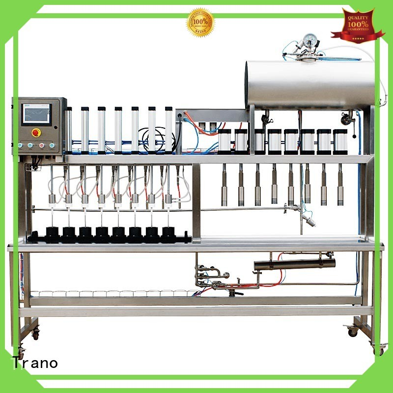 Trano efficient bottle filler manufacturer series for beer