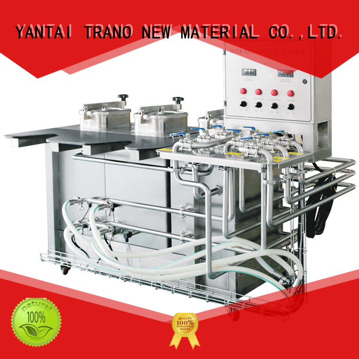 semi-automatic keg cleaning machine factory direct supply for beer