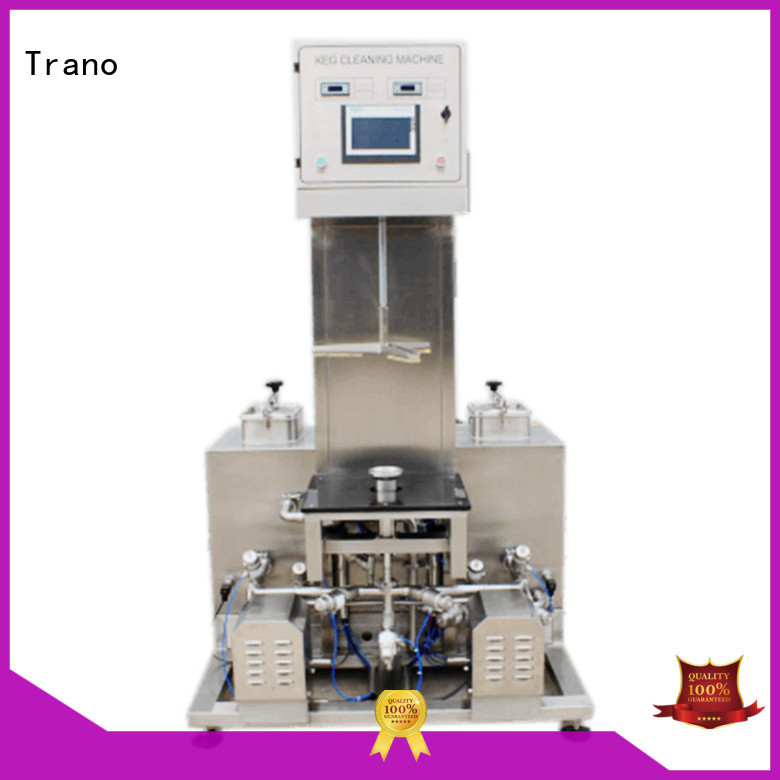 semi-automatic Beer Keg Three Heads Semi-Automatic Washer factory direct supply for beer