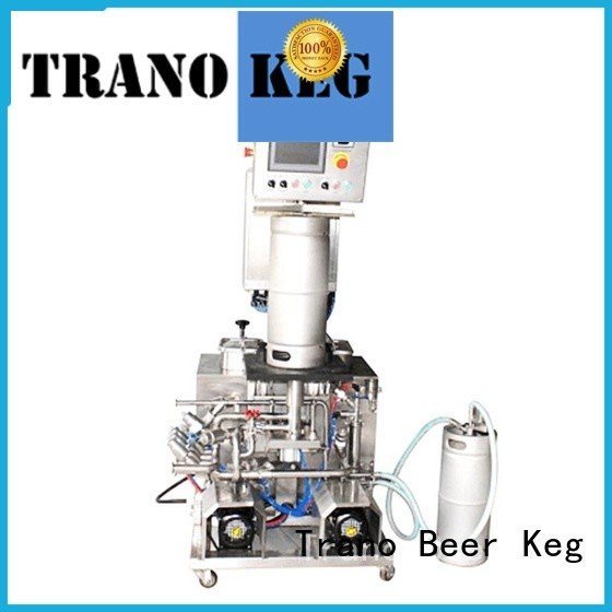 Trano practical keg cleaning machine wholesale for beverage factory