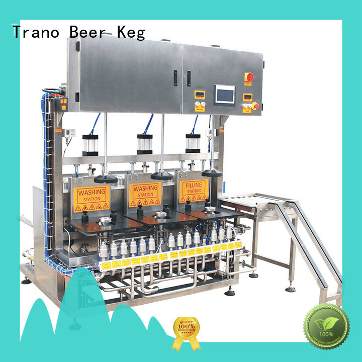 Trano keg cleaning machine with good price for beverage factory