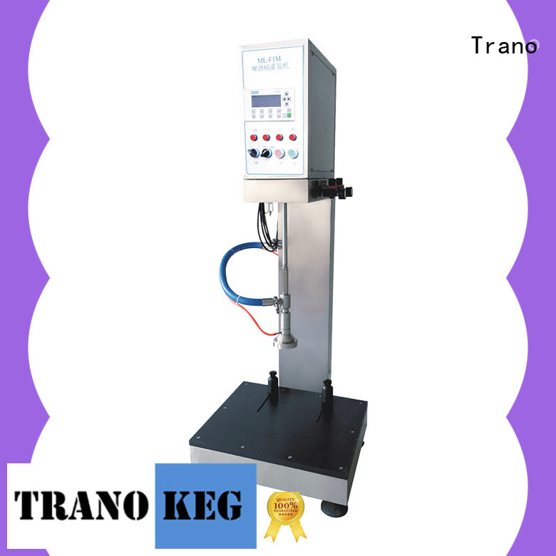 Trano beer keg filling equipment supplier for beer