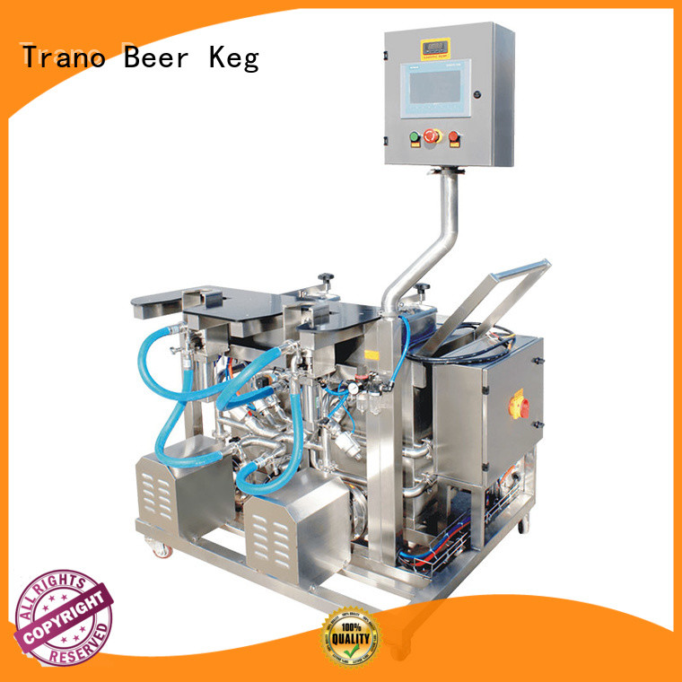 Trano convenient beer keg washer factory direct supply for beer