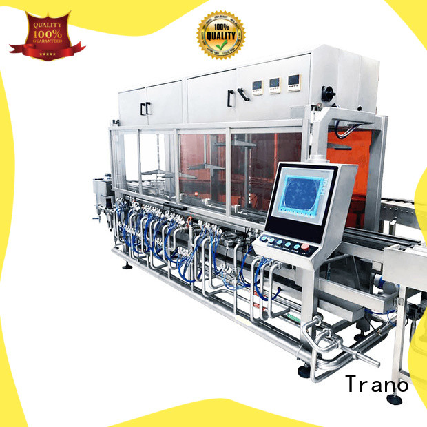 Trano long lasting keg cleaning and filling machines series for beer