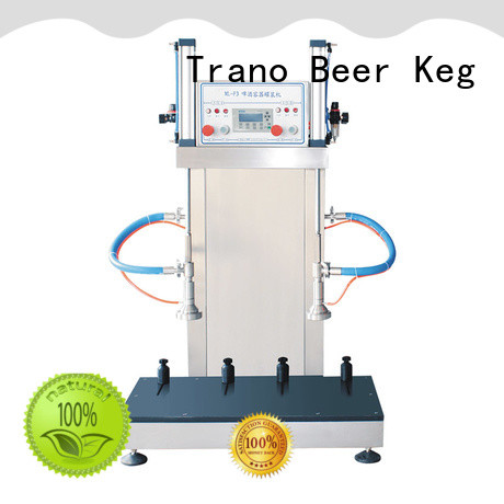 semi-automatic keg filling machine manufacturer for beverage factory