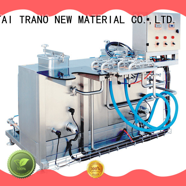 Trano keg cleaning machine manufacturer for food shops