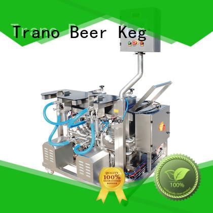 Trano convenient beer keg washing machine manufacturer for beer
