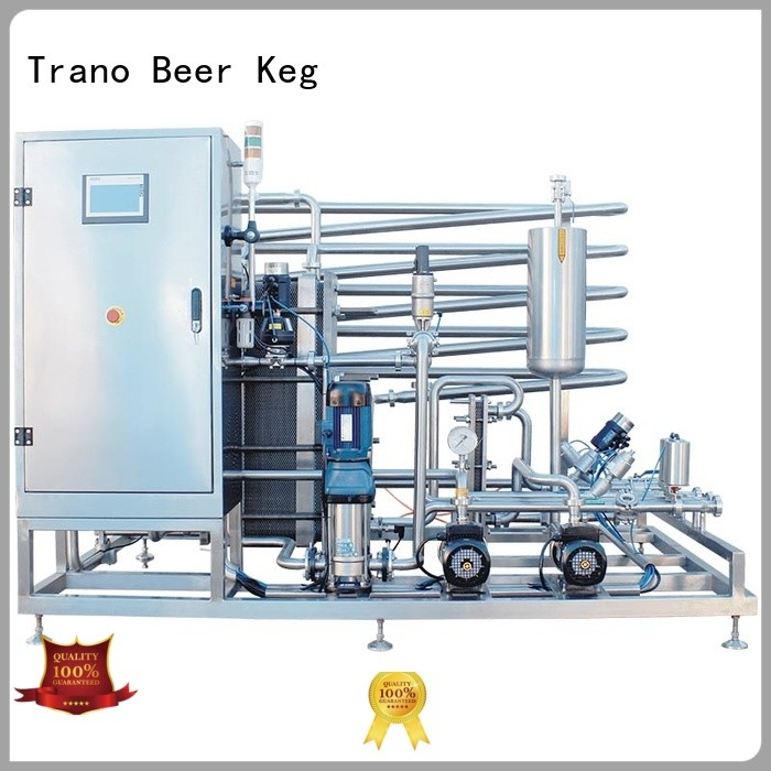 Trano automatic beer pasteurizer machine supplier for beverage factory