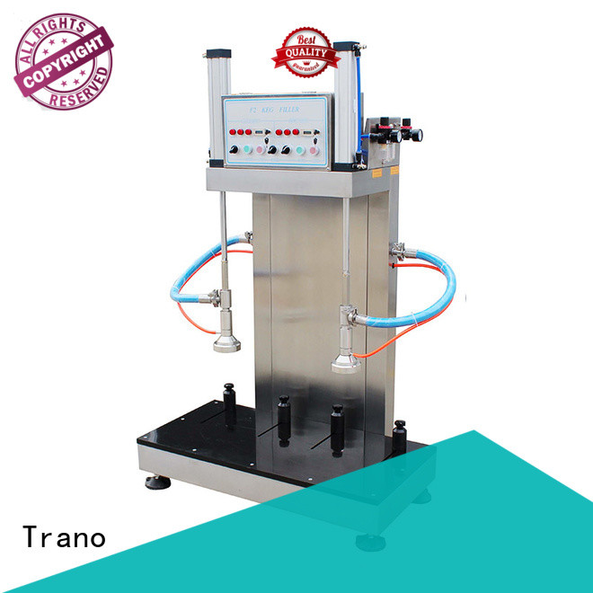 Trano semi-automatic beer keg filling equipment manufacturer for beer