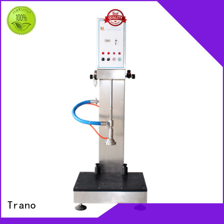 Trano semi-automatic filling machine supplier for food shops