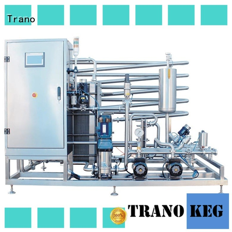 Trano pasteurization machine supplier for beverage factory
