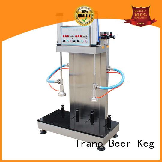 Trano advanced keg filling machine manufacturer for beverage factory