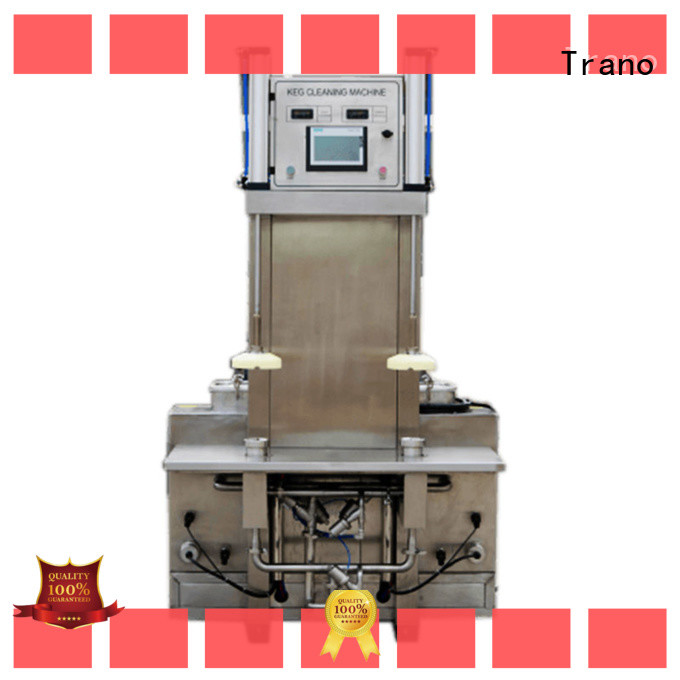 Trano automatic beer keg washing machine manufacturer for beer