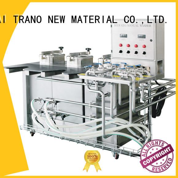 Trano beer keg washing machine manufacturer for beverage factory