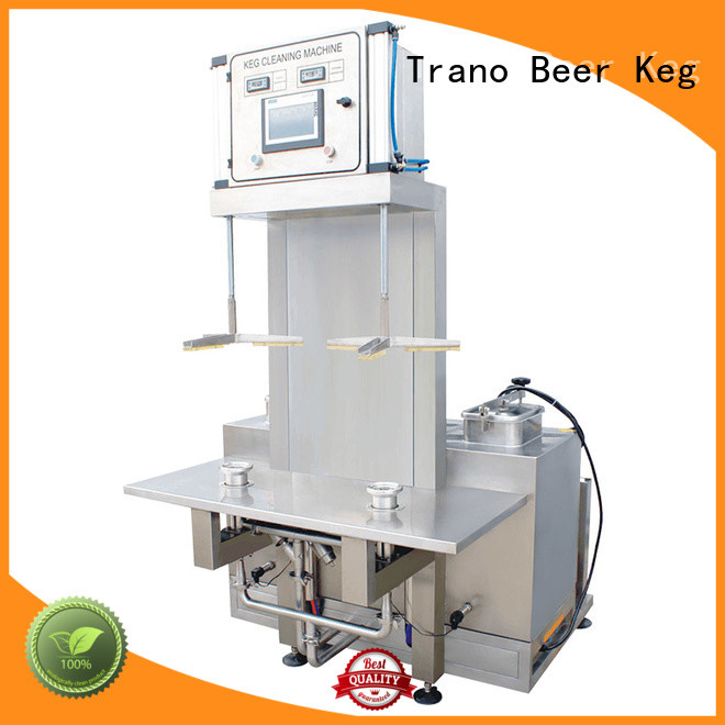 Trano Beer Keg Three Heads Semi-Automatic Washer manufacturer for food shops